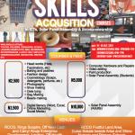 SKILL ACQUISITION TRAINING 2019