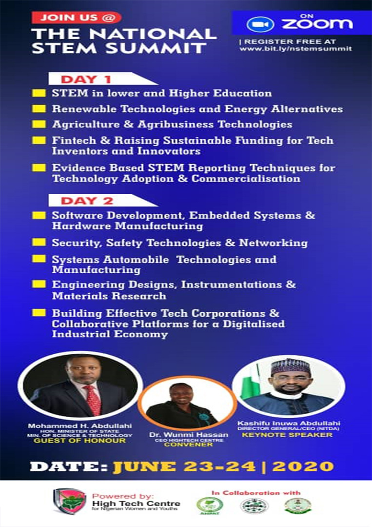 High Tech Center For Nigerian Women and Youths